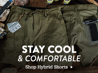 Stay cool and comfortable. Shope Hybrid Shorts.