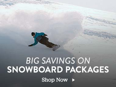 Big Savings On Snowboard Packages. Shop Now.