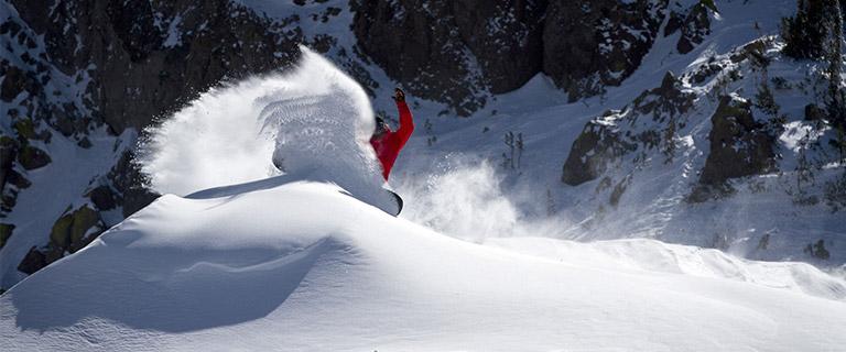 Powder snowboards