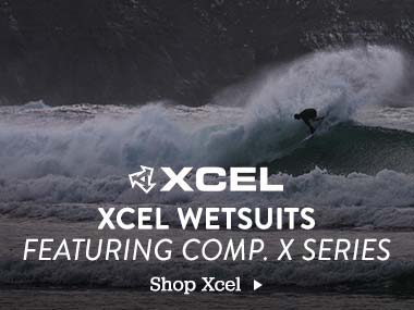 XCEL Wetsuits Featuring Comp. X Series. Shop Now.