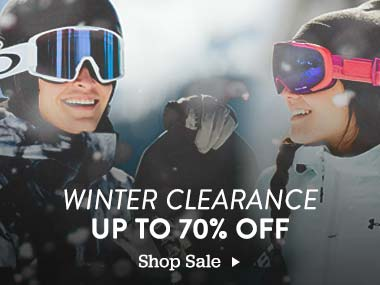 Winter Clearance. Up to 70% Off. Shop Sale