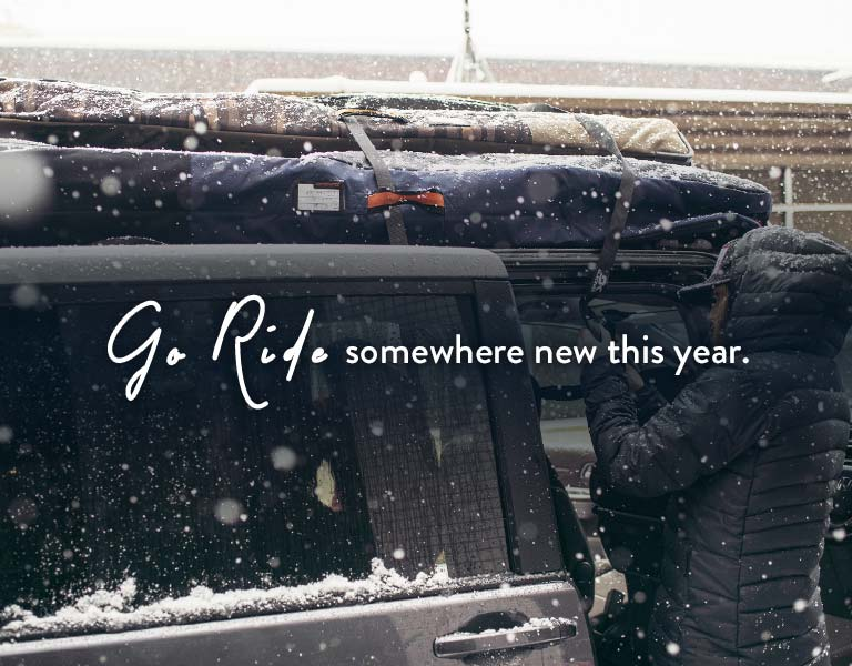 Travel Bags - Ride Somewhere New this Year