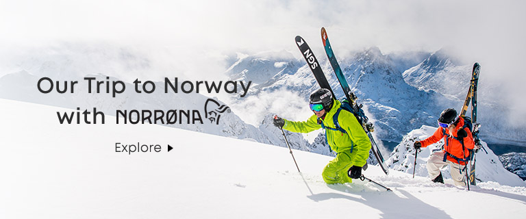 Our Trip to Norway with Norrona. Explore.