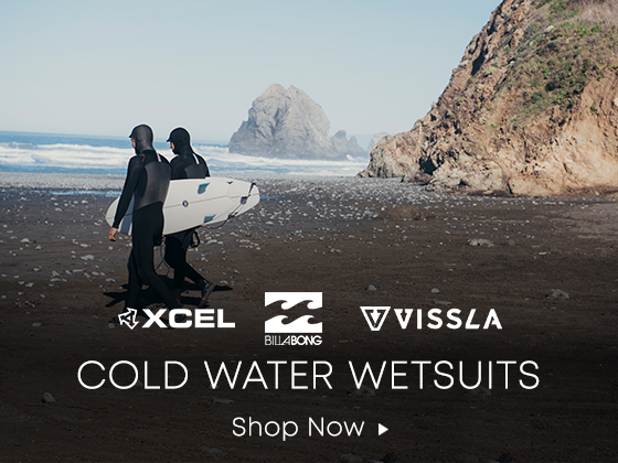 Xcel Billabong Vissla. Cold Water Wetsuits. Shop Now