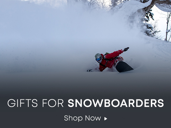 Gifts for Snowboarders. Shop Now.