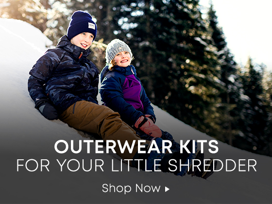 Outerwear Kits for your Little Shredder. Shop Now