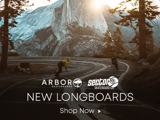 Arbor Sector 9. New Longboards. Shop Now