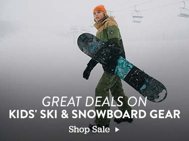 Great Deals on Kids Ski and Snowboard Gear. Shop Sale