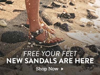 Free your Feet. New Sandals are Here. Shop Now.