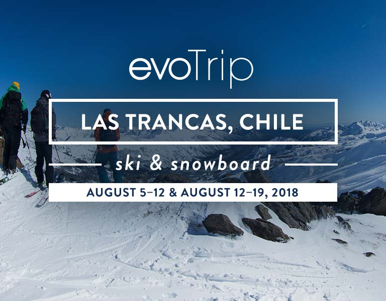 evoTrip Chile. Las Trancas. Travel With Us.