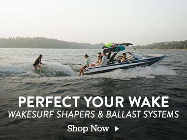 Perfect your Wake. Wakesurf Shapers and Ballast Systems. Shop Now.
