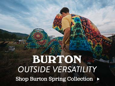 Burton Outside Versatility. Shop Burton Spring Collection.