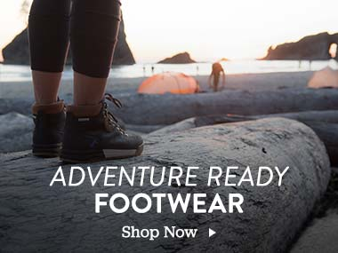 Adventure Ready Footwear. Shop Now.