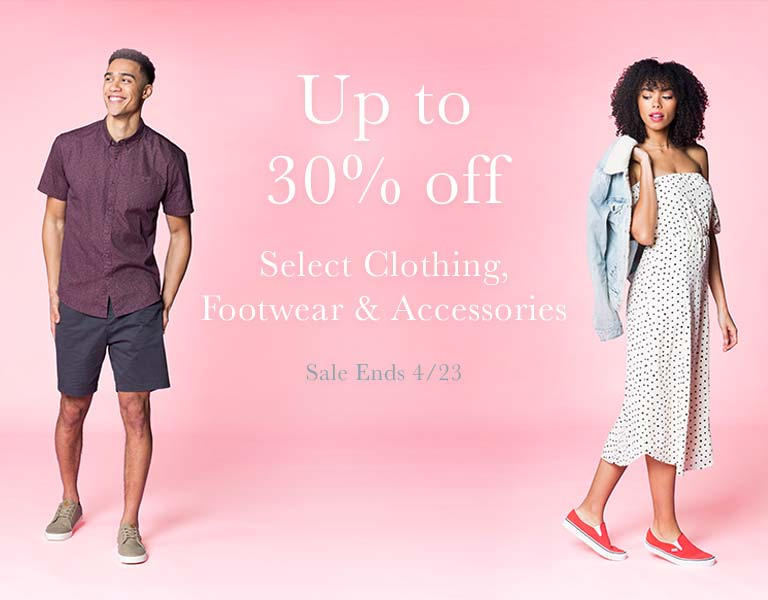 Up to 30% Off Spring