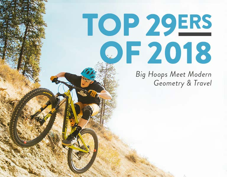 Mountain Biking Top 29ers
