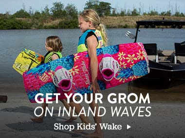 Get Your Grom on Inland Waves. Shop Kids' Wake.