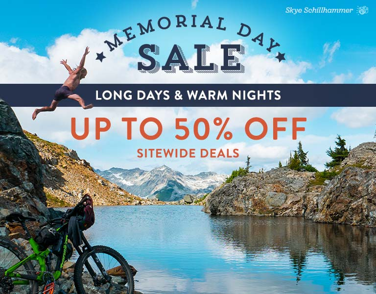 The Memorial Day Sale - Up to 50% Off Sitewide