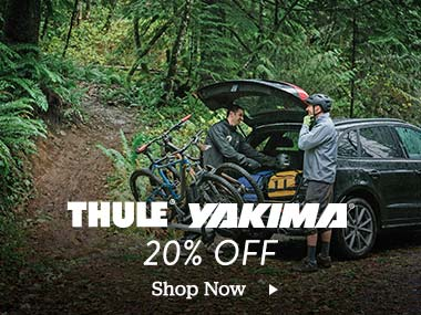 Thule. Yakima. 20 Percent Off. Shop Now.