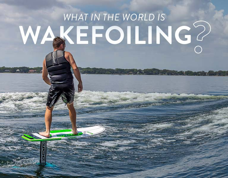 What in the World is Wakefoiling?
