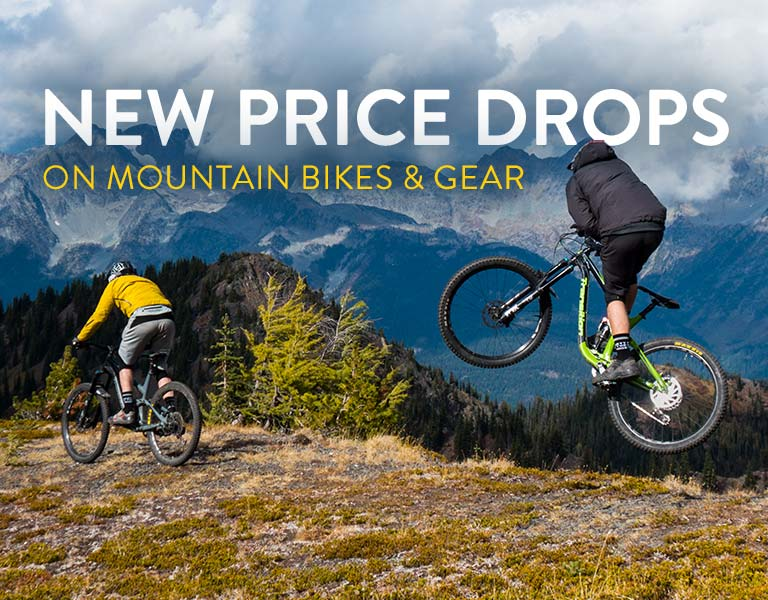 New Price Drops on MTB Bikes & Gear