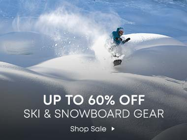 Up to 60% Off Ski and Snowboard Gear. Shop Sale
