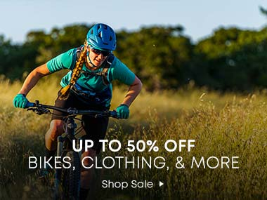 Up to 50% Off. Bikes, Clothing and More. Shop Sale