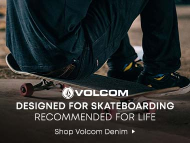 Volcom. Designed for Skateboarding. Recommended for Life. Shop Volcom Denim