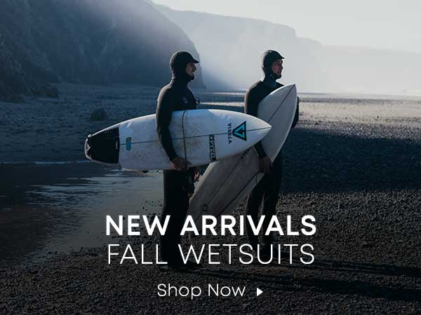 New Arrivals Fall Wetsuits. Shop Now