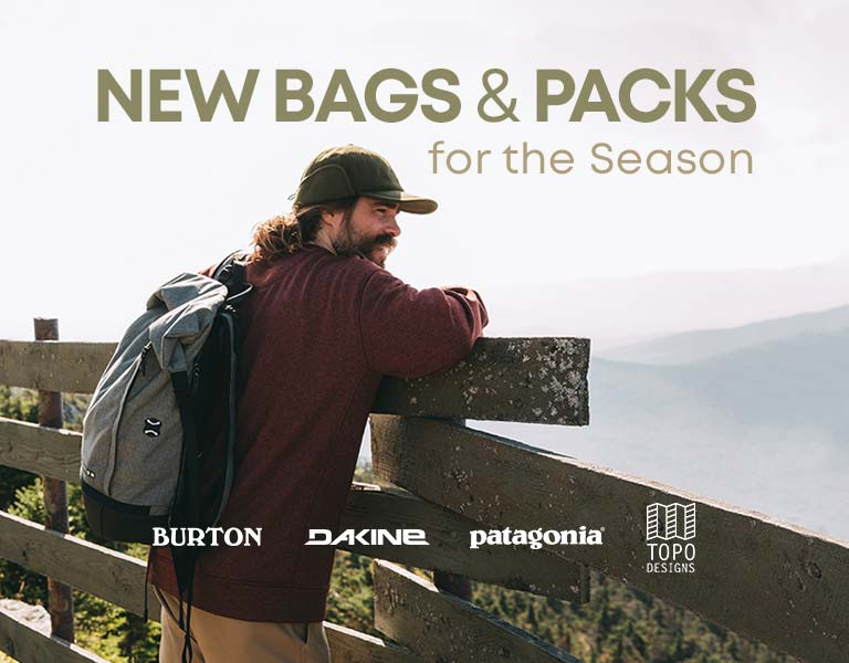 Perfect New Bags and Packs for the Season