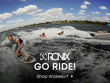 Ronix. Go Ride. Shop Wakesurf.