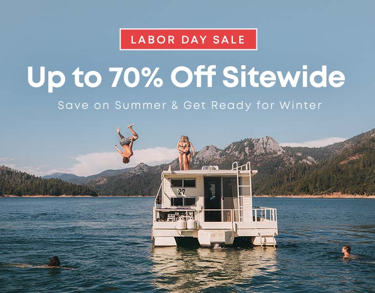 Labor Day Sale Up to 70% Off Sitewide