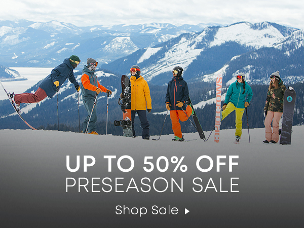 Up to 50% Off Preseason Sale. Shop Sale