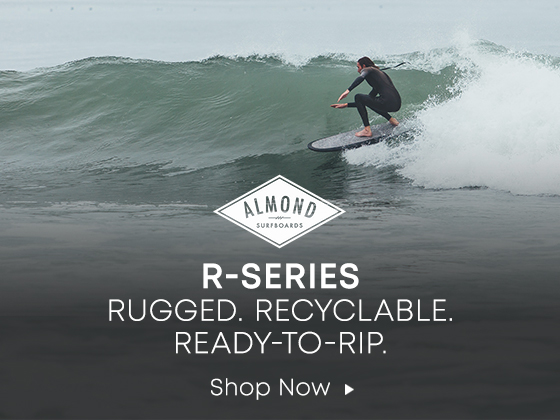 Almond. R Series. Rugged. Recyclable. Ready to Rip. Shop Now.