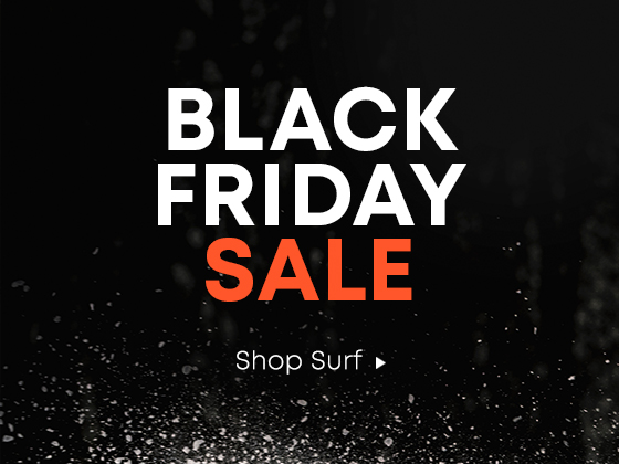 Black Friday Sale. Shop Surf