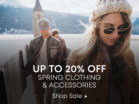 Up to 20% Off. Spring Clothing & and Accessories. Shop Sale