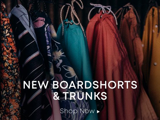 New Boardshorts & Trunks