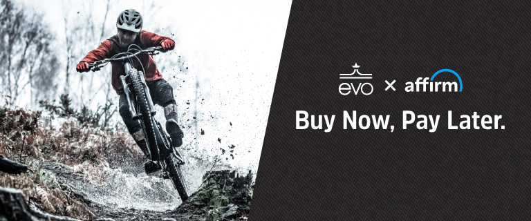 evo + Affirm. Buy Now, Pay Later.