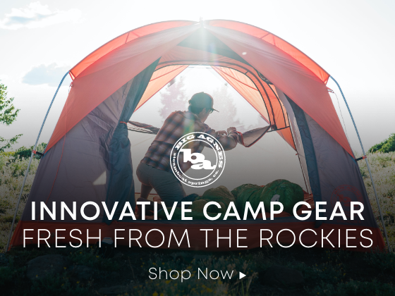Innovative Camp Gear Fresh From The Rockies