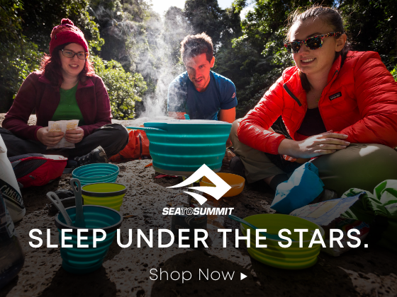 Sleep under the stars.