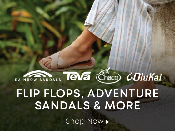 Flip Flops, Adventure Sandals, and More