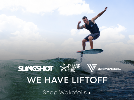 We Have Liftoff. Wakefoils to Rise Above the Chop.