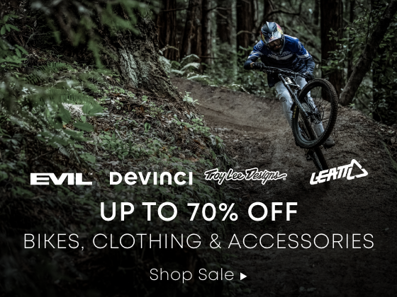 Up to 70% Off Bikes, Clothing & Accessories