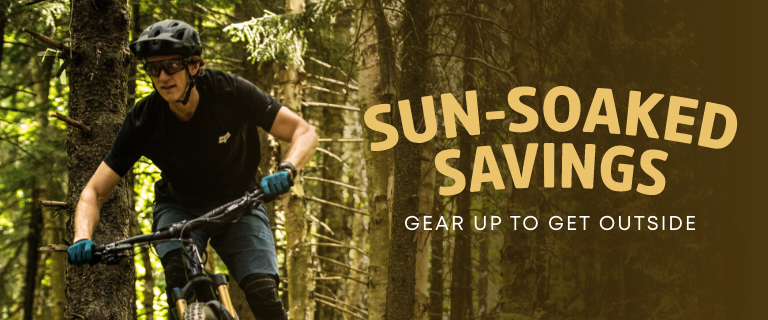 Sun-Soaked Savings - Gear Up to Get Outside