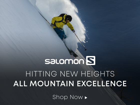 Salomon. Hitting new heights. All mountain excellence. Shop now.