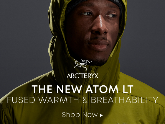 The New Atom LT. Fused warmth and breathability. Shop now.