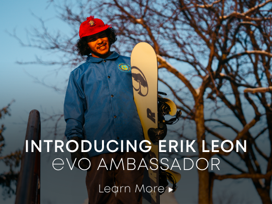 Introducing Erik Leon. evo ambassador.