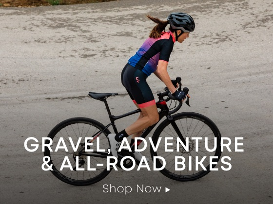Gravel, Adventure & All-Road Bikes