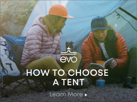 evo - how to choose a tent - learn more.