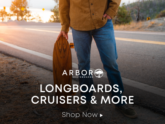 arbor longboards cruisers and more. shop now