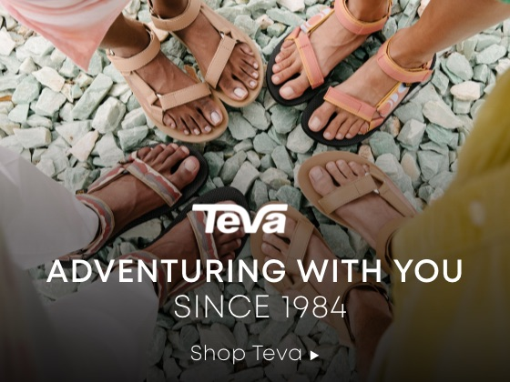 Adventuring with You Since 1984. Shop Teva.